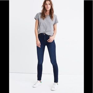 "Madewell 10"" high-rise skinny, size 30,new"